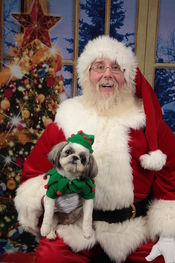 Santa and Elf Noel<br />