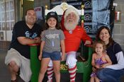Santa and a family of chiefs Fans Added 7/30/14