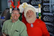 Santa and the Syracuse Chiefs GM ! Added 7/31/14