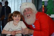 Santa and a happy Little girl !  Added 7/31/14