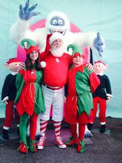 Santa the Elves and Bumble! Added 7/31/14