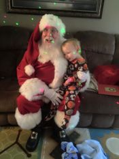 Santa with a little one! 2015 Added 1/2/16