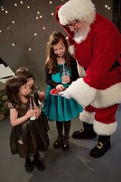 Santa with some wonderful children! 2015 Added 1/2/16